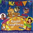KI.KA Kindergeburtstag KiKa CD NEU inkl. Schnappi uvm.!