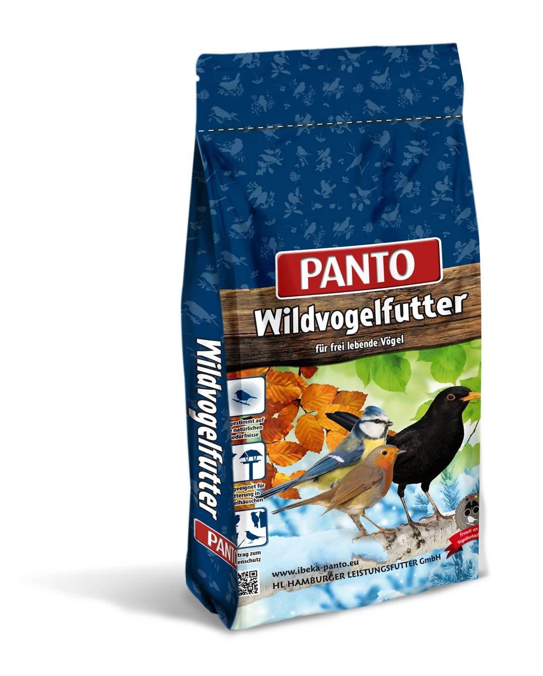 Panto 25KG Vier-Jahreszeitenfutter Wildvogel-Mix Vogelfutter