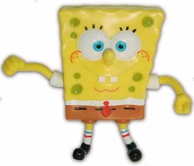 SpongeBob - Schwammkopf Biegefigur Kunstst. 9cm