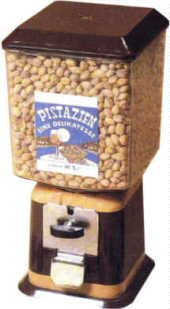 Nuß Automat Pistazien Erdnuss-Automat + Händlergarantie